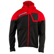 Spyder Strato Fleece Hoodie, Peat-Volcano, medium