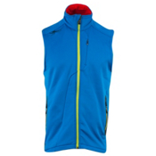 Spyder Caliber Fleece Mens Vest, Collegiate-Sharp Lime, medium