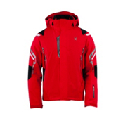 Spyder Bromont Mens Insulated Ski Jacket, Red-Black-White, medium