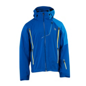 Spyder Vyper Mens Insulated Ski Jacket, Just Blue-Collegiate-Sun, medium