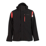 Spyder Core Component 3-in-1 Mens Insulated Ski Jacket, Black-Red, medium