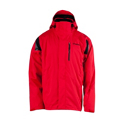 Spyder Core Component 3-in-1 Mens Insulated Ski Jacket, Red-Black, medium