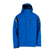 Spyder Core Component 3-in-1 Mens Insulated Ski Jacket, Just Blue-Black, medium