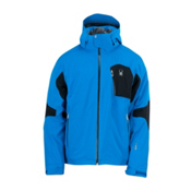 Spyder Cosmos Mens Insulated Ski Jacket, Collegiate-Black-Black, medium