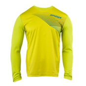 Spyder Subsonic LS DRY W.E.B. Mens Mid Layer, Sharp Lime, medium