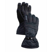 Spyder Overweb Gore-Tex Gloves, Black-Castlerock, medium