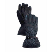 Spyder Overweb Gore-Tex Gloves, Black-Collegiate, medium