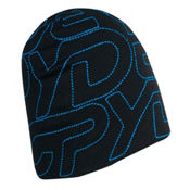 Spyder Tread Ski Hat, Black-Blue, medium