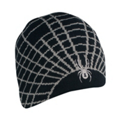 Spyder Web Ski Hat, Black-Castlerock, medium