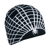 Spyder Web Ski Hat, Black-White, medium