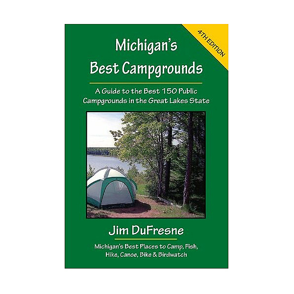 Michigan Trail Maps Michigans Best Campgrounds, , 600