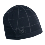 Spyder X-Static Skull Cap, Black-Castlerock, medium