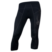 Spyder Scuba X-Static 3/4 Mens Long Underwear Pants, Black-Castlerock, medium