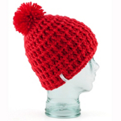 Coal Waffle Hat, Red, medium