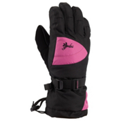 Gordini Gore-Tex II Girls Gloves, Black-Deep Pink, medium