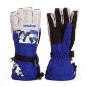 Gordini Gore-Tex II Junior Ski Kids Gloves, Deep Sea-Clay Grey, medium