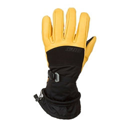 Gordini The Polar Gloves, Black-Gold, 256