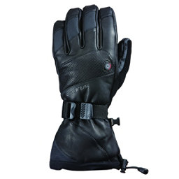Seirus Heat Touch Inferno Mens Heated Gloves and Mittens, Black, 256