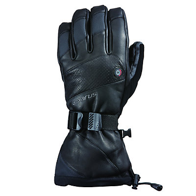 Seirus Heat Touch Inferno Mens Heated Gloves and Mittens, Black, viewer