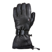 Seirus Heat Touch Inferno Ski Heated Ski Gloves, Black, medium