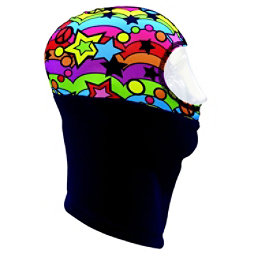 Seirus Girls Thick N Thin Headliner Kids Balaclava, Peace, 256