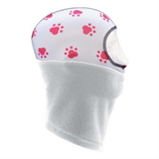 Seirus Girls Thick N Thin Headliner Kids Balaclava, Paws, medium