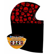 Seirus Thick N Thin Headliner Kids Balaclava, Skulls, medium