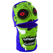 Seirus Headzo Kids Balaclava, Purple-Zombie, medium