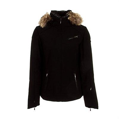 Spyder Posh Real Fur Womens Insulated Ski Jacket (Previous Season), , large