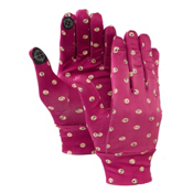 Burton Touchscreen Glove Liners, Emoticons, medium