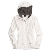 Burton Cora Fleece Womens Hoodie, Bright White, medium