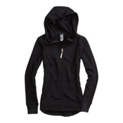 Burton Hangover Womens Hoodie, True Black, medium