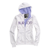 Burton Scoop Womens Hoodie, Bright White, medium