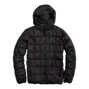 Burton Groton Down Mens Insulated Snowboard Jacket, True Black, medium