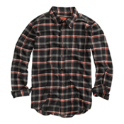 Burton Havoc Tech Flannel Flannel, True Black Ride High Plaid, medium