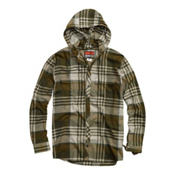 Burton Ruckus Hooded Flannel Flannel, Schwag Vandyke Plaid, medium
