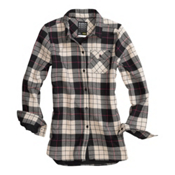 Burton Player Flannel, True Black Punk Plaid, medium