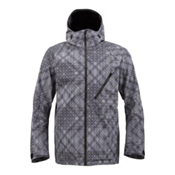 Burton AK 2L Cyclic Mens Shell Snowboard Jacket, Eben Print, medium