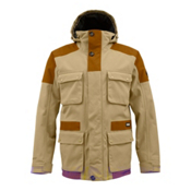 Burton Highland 2L Gore-Tex Mens Insulated Snowboard Jacket, Burlap-True Penny, medium