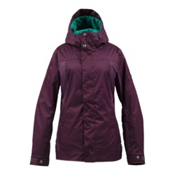 Burton TWC Fulltime Flirt Womens Insulated Snowboard Jacket, Shiner, medium