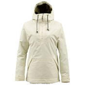 Burton Cora Pullover Womens Shell Snowboard Jacket, Canvas, medium