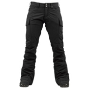 Burton Gloria Womens Snowboard Pants, True Black, medium