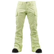 Burton Gloria Womens Snowboard Pants, Sunny Lime, medium
