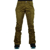 Burton Indulgence Womens Snowboard Pants, Olive, medium