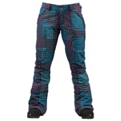 Burton Indulgence Womens Snowboard Pants, Heathers Cheeky Plaid, medium