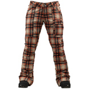 Burton Indulgence Womens Snowboard Pants, Fever Radiant Plaid, medium