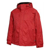 Karbon Jupiter Mens Insulated Ski Jacket, Red, medium