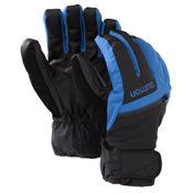 Burton GORE-TEX Under Gloves, True Black-Heron Blue, medium
