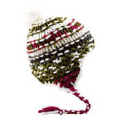 Burton Nana Earflap Womens Hat, Bright White, medium