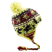 Burton Nana Earflap Womens Hat, Sunny Lime, medium